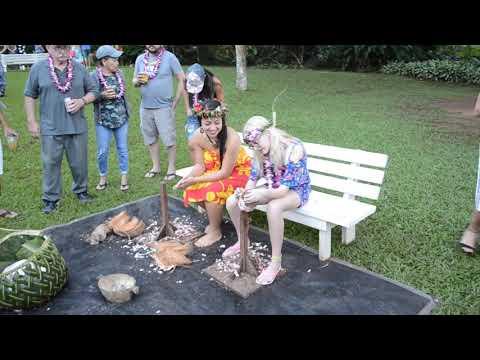 Hawaii Toa Luau pre-event 112818