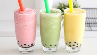 HEALTHY BUBBLE TEA | RECIPE