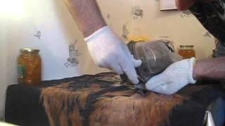 Разборка фары дома(Отделение поврежденного пластового стекла от фары на мазду 6 в домашних условиях., 2014-02-01T08:57:05.000Z)