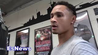 Regis Prograis Who Fought Spence Twice Breaks Down Errol vs Crawford EsNews Boxing