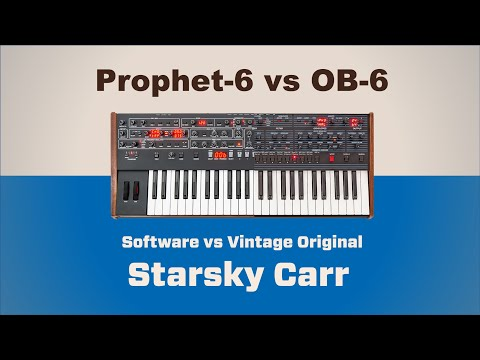 Dave Smith: OB-6 vs Pro6