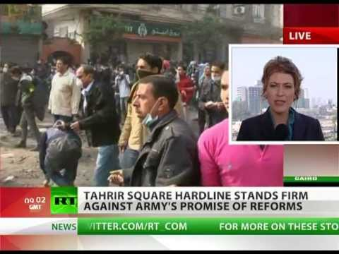Cairo Standing: Tahrir protesters occupy against army