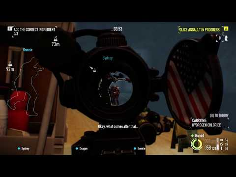 Payday 2 Lab Rats Deathwish With Bots