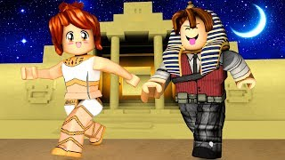 ROBLOX-WE WENT TO EGYPT ft. CRIS MINEGIRL (The Obby Temple)