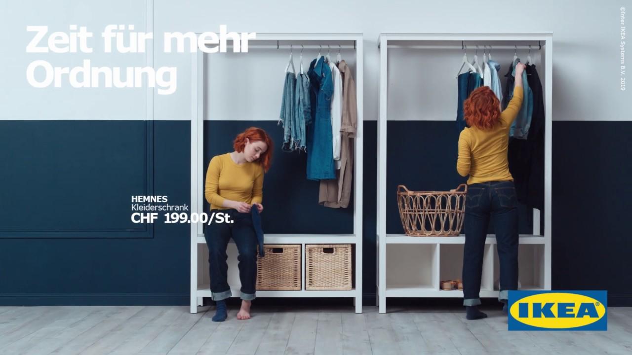 Ikea Schweiz Zeit Fur Mehr Ordnung Hemnes