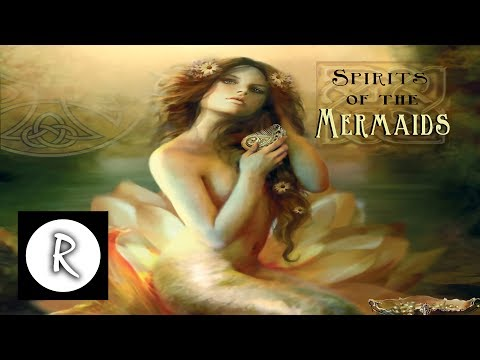 Spirits of the Mermaid - music album - Celtic Music, Celtic harp, Irish whistles, zither & flute