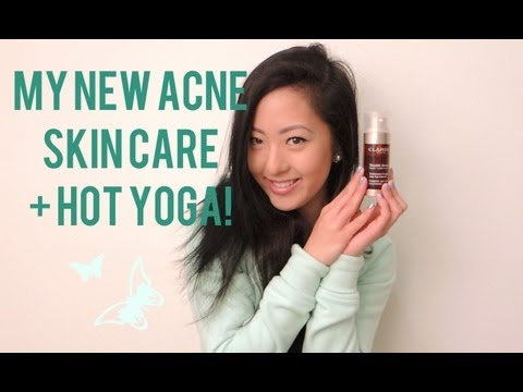 REVIEW: Serum Application for My Recent Acne & Hot Yoga Update