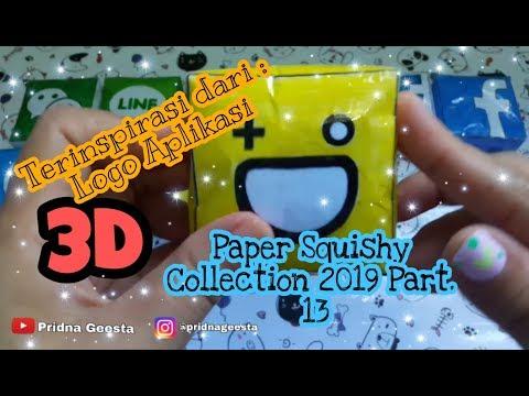 Paper Squishy Collection 2019 Part. 13 Logo Aplikasi    Pridna Geesta
