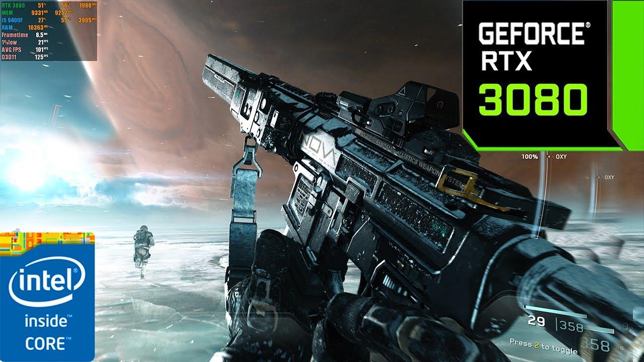Call of Duty : Infinite Warfare | RTX 3080 10GB ( 4K Maximum Settings )