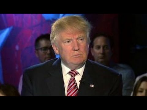 Trump asks his supporters to weigh in on deportation policy