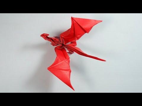 Origami Dragon 8.0 Intermediate version Tutorial (Henry Pham)