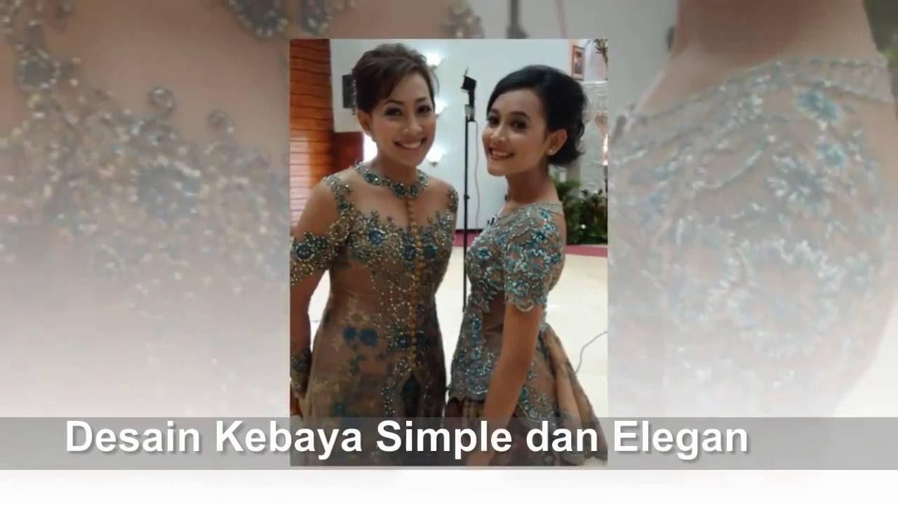 Grosirkebaya Net Model Kebaya Modern Dengan Desain Simple Dan Elegan