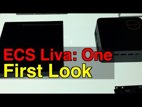 ECS Liva One and One vPro: First Look | Digit.in