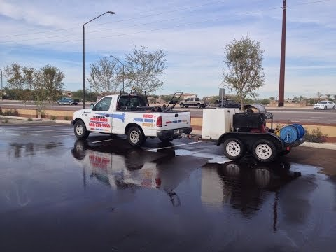 Parking Lot Pressure Washing Phoenix AZ