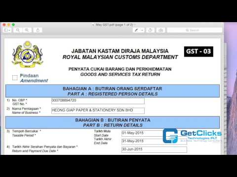 How To Submit GST: Submit GST via Online - Master Accounting Software