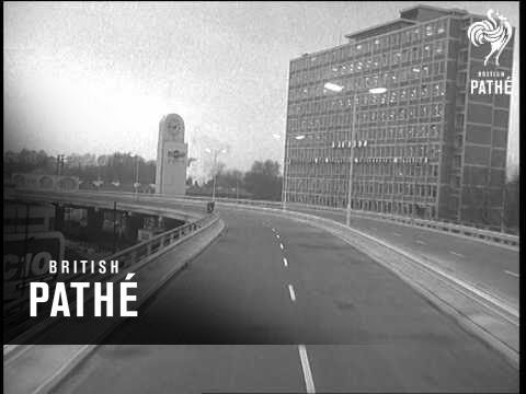 London Aka Extension Of Chiswick Flyover Opened (1964)