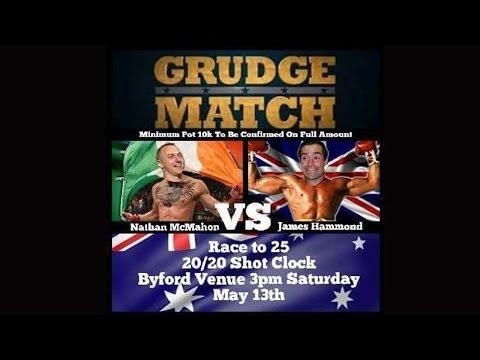 Rocky Hammond v Nathan McMahon $10,000 money match