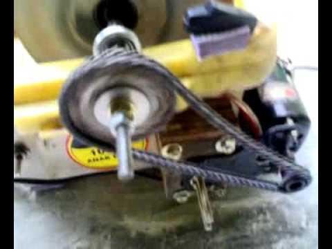 Mesin pembuat batu ali dari mesin jahit bekas - YouTube