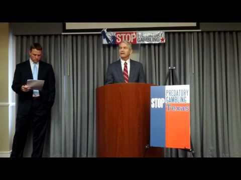 "Stop Predatory Gambling Texas to U.S. Rep.Barton: ""Don't force Internet casinos into Texas homes"""