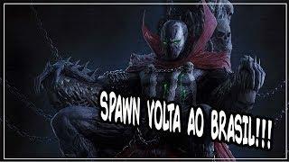 SPAWN volta a ser publicado no Brasil
