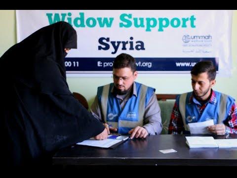 Assisting Syria's Widows through 2017