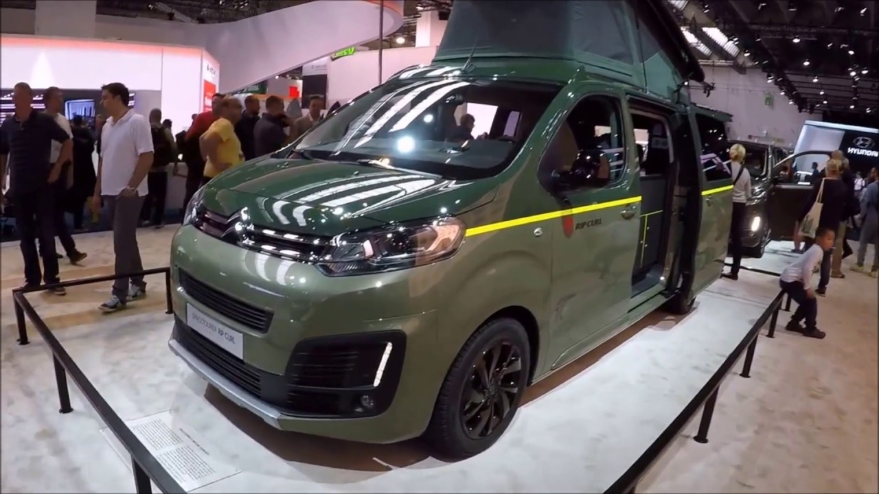 citroen space tourer rip curl concept 4x4 camper van new model walkaround interior youtube. Black Bedroom Furniture Sets. Home Design Ideas