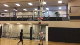 Isaiah Rivera Sick(Literally!) Dunk Session Video