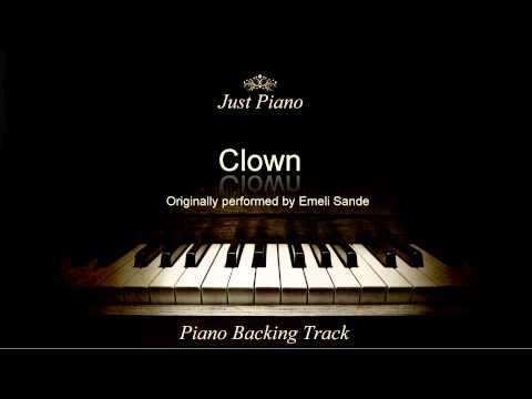 Clown by Emeli Sandé (Piano Accompaniment)