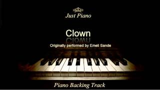 Clown by Emeli Sandé (Piano Accompaniment)