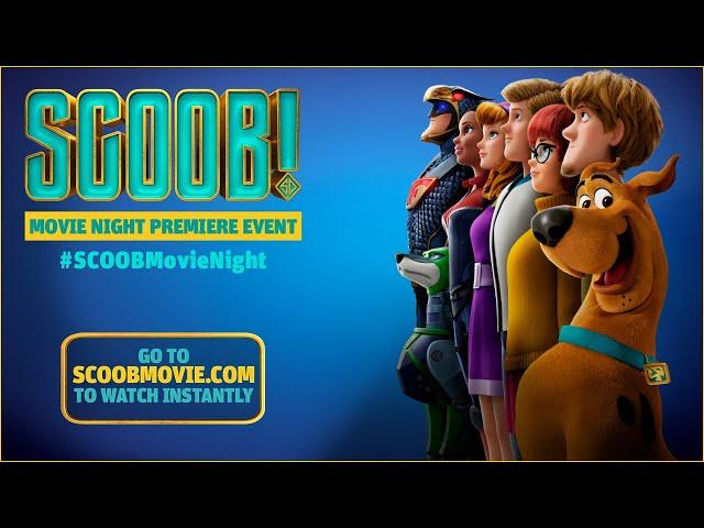 SCOOB! Movie Night Premiere Event   WB Kids