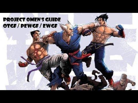 Tekken 7 Practicing Otgf Pewgf Ewgf On A Pad Project Omen S Guide Youtube