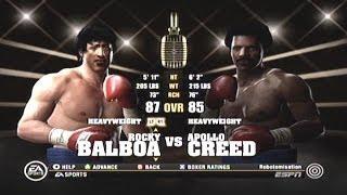 Fight Night Round 4 - Rocky Balboa vs  Apollo Creed - Xbox 360