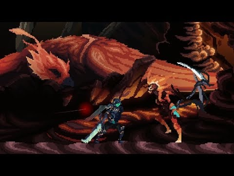 Death's Gambit: Soul Of The Phoenix Boss Fight #2