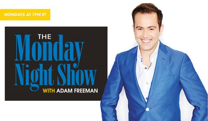 The Monday Night Show with Adam Freeman 02.15.2016 - 8 PM