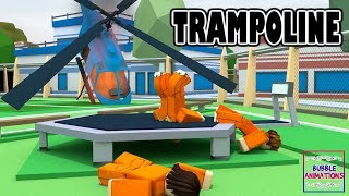 ROBLOX Jailbreak Trampoline (Funny Animation)