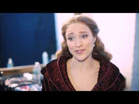 Exclusive! Go Behind-the-Scenes with Christy Altomare on Her ANASTASIA Commercial Shoot