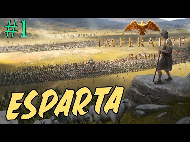 A por TODOS los LOGROS de ESPARTA - Esparta #1 - Imperator Rome 2.0