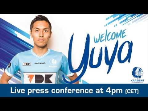 Press conference Yuya Kubo