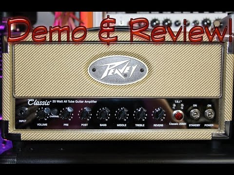 Peavey Classic MH20 Amp Review