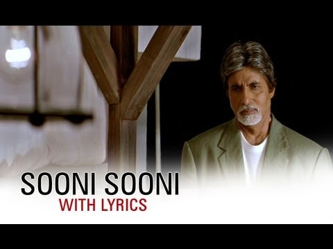 Sooni Sooni (Song With Lyrics) | Cheeni Kum | Amitabh Bachchan & Tabu