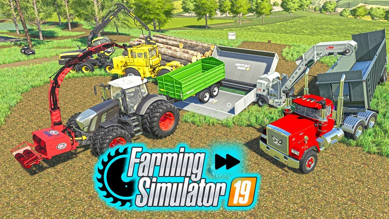 Farming Simulator 19 New Forestry Mods - Autoload and LS19 Map | FS19  Logging Stream Timelapse