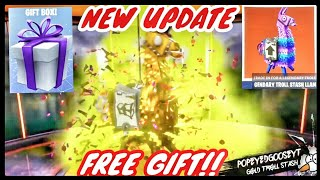 NEW Update FREE GIFT*Opening 2 Gold Legendary Troll Stash Llamas*Fortnite Save The World