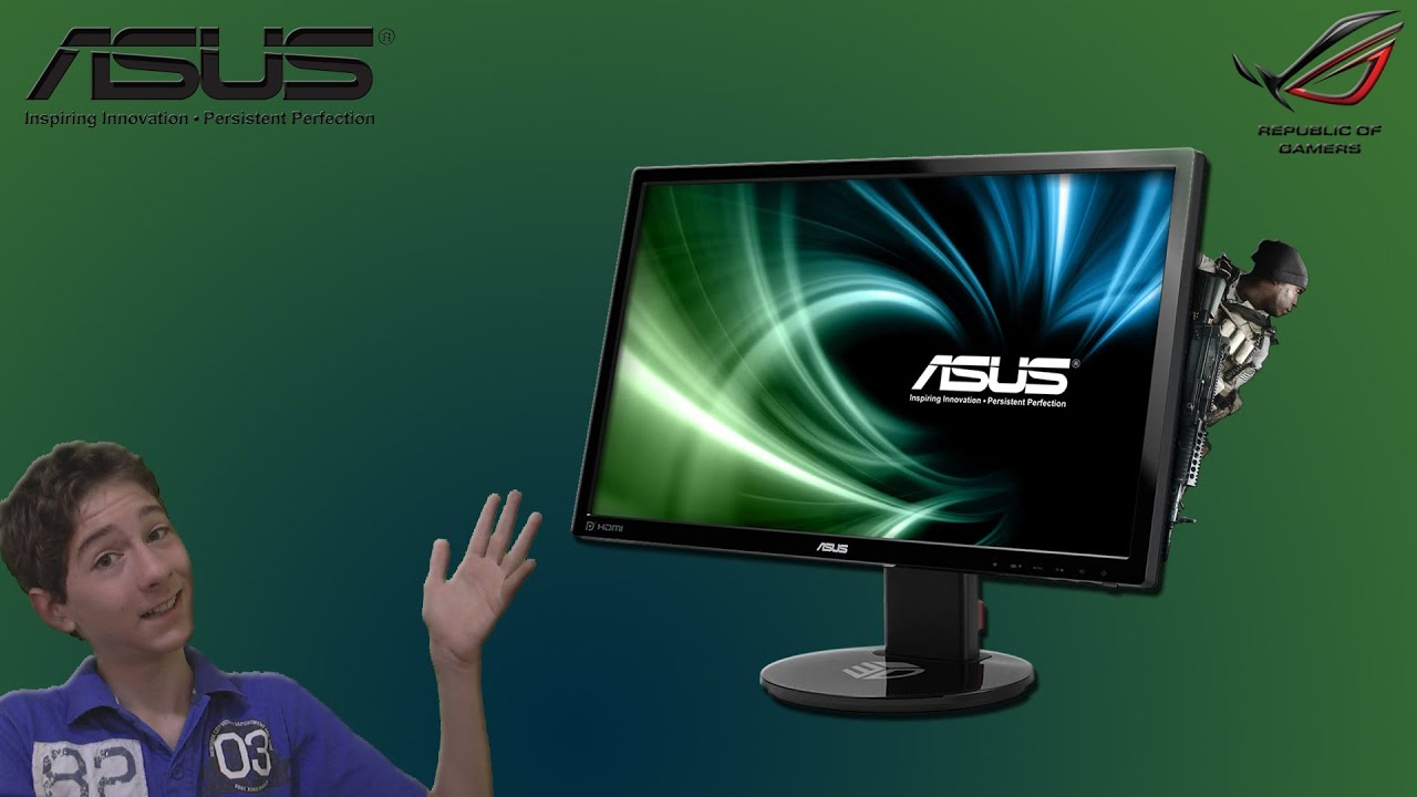 Monitor Gamer ASUS VG248QE - Unboxing e Teste by Gabriel Probst
