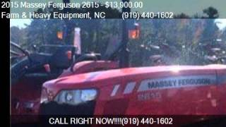 2015 Massey Ferguson 2615 Rental Return for sale in Farm and