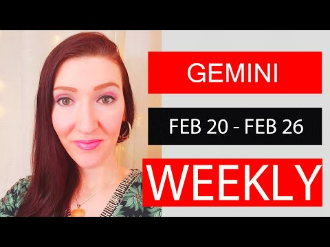GEMINI WEEKLY LOVE YOU NEED TO BE AWARE OF THIS!!! FEB 20 TO 26