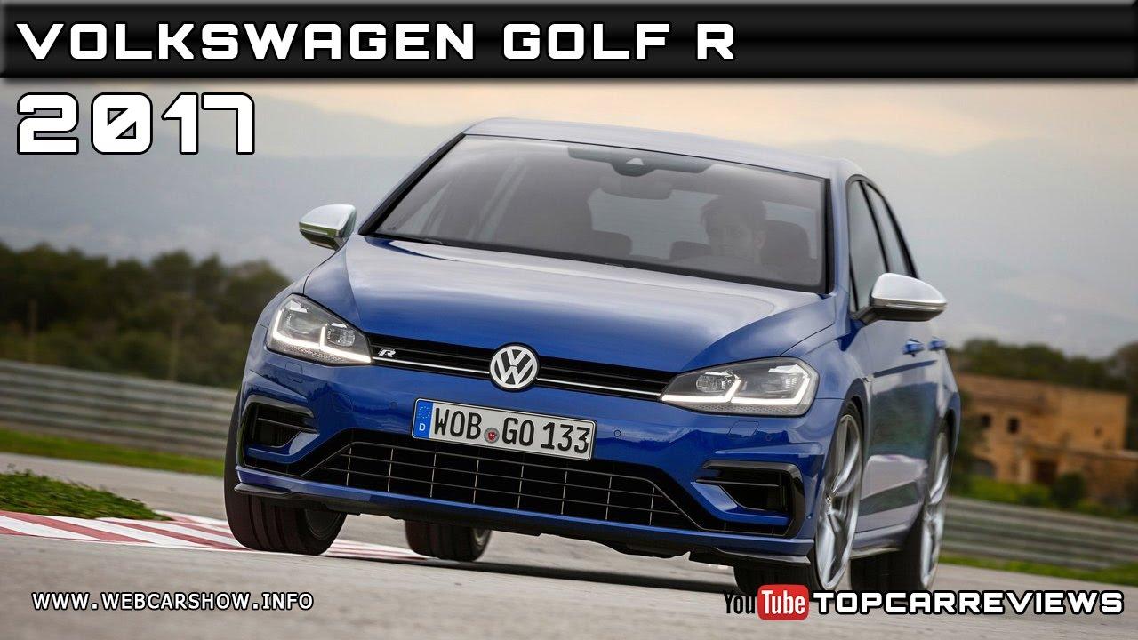2017 Volkswagen Golf R Review Rendered Price Specs Release Date