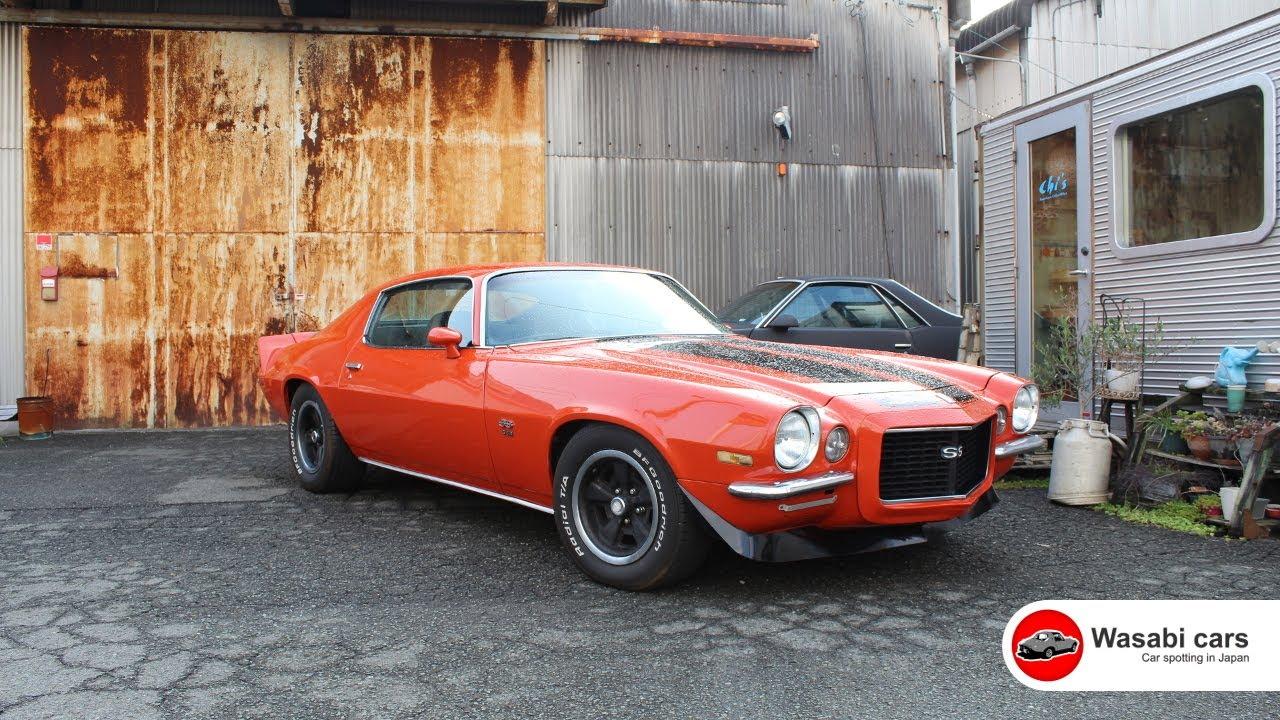 camaro 1970 ss 396 rs chevrolet block japan