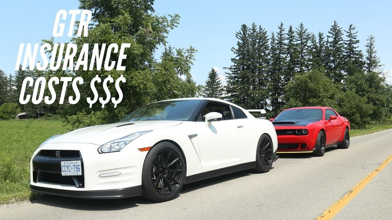 The Cost of GTR insurance for a 23 Year Old (with driving record)
