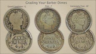 Grading Barber Dimes