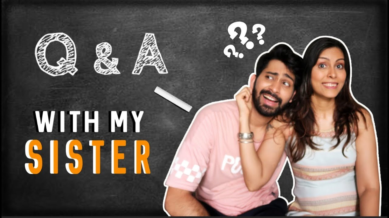 Funniest Childhood Memory, Biggest Fights - Q&A with my Sister | Ankush Bahuguna | Rakhi Special
